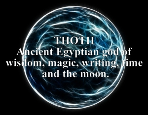 The god Thoth