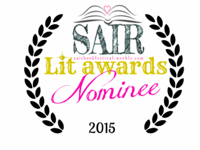 SA Indies Rock Lit Awards Ive Been Nominated Author Of The Year - Lit design 2015